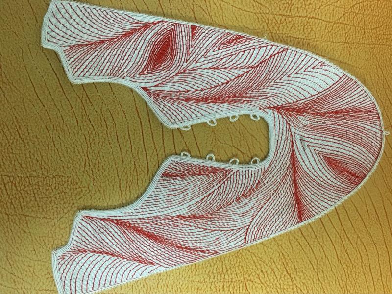 布料 一针一线3d鞋面 多色 涤棉 涤纶 锦纶 3D 飞织 4D 单层网 绣花