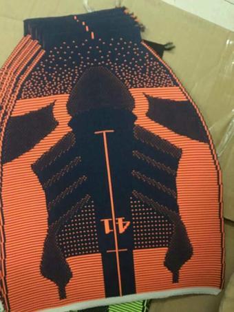 多色 飞织 一针一线3d鞋面 半成品先看 2万双开春用